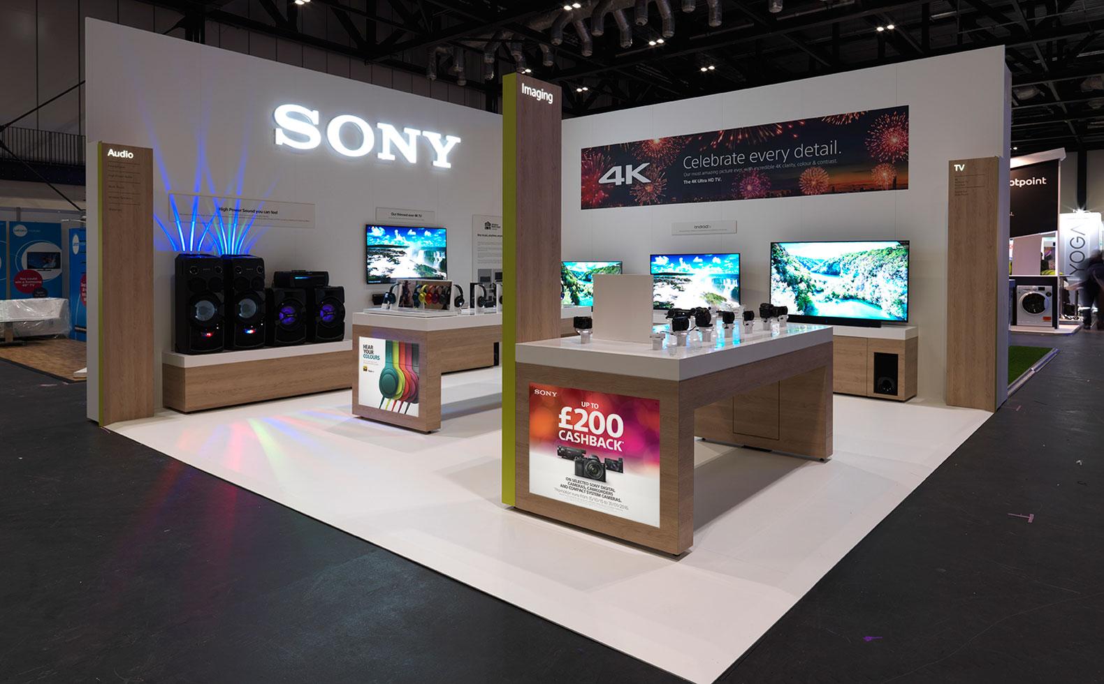Exhibition Stand Design Brief Pdf : Sony dealer trade show